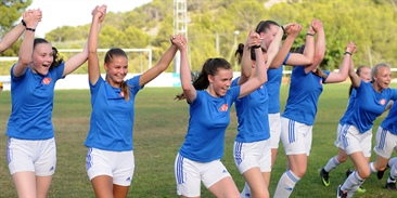 Women's football: Priority of the Costa Blanca Cup
